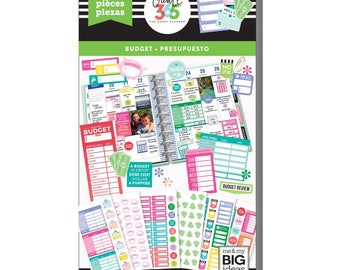 Fill In Budget Create 365 Happy Planner Sticker Value Pack (682/Pkg) Me & My Big Ideas (PPSV-54-3048)