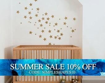 Small Stars - Kids vinyl Wall Sticker