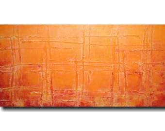 Abstract painting, large acrylic wall art, living room room decor, dining room wall art ,  JMJArtstudio, Spring decor