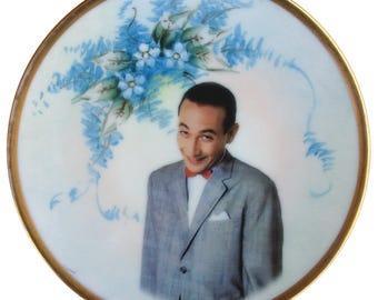 """Pee-wee Herman Portrait Plate 6.15"""""""