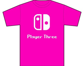 Nintendo Family Tshirts - Switch Kids