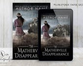 "Premade Digital eBook Book Cover Design ""The Matherville Disappearance"" Thriller Suspense Horror Literary YA Young Adult Fiction"