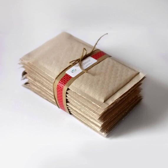 Brown Kraft Bubble Mailers- 8.5 x 11 in-  Set of 200  ||Shipping Envelopes, Padded Mailer, Brown Envelope,  Bubble Wrap, Self Sealing