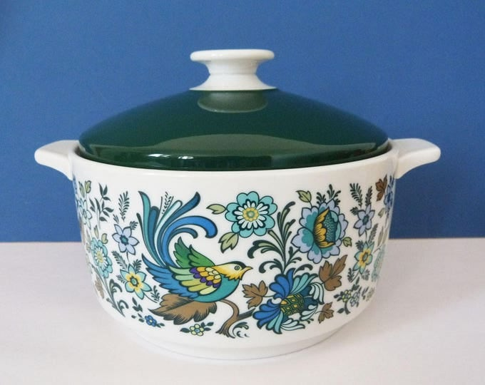 Royal Doulton Everglades casserole pot vintage