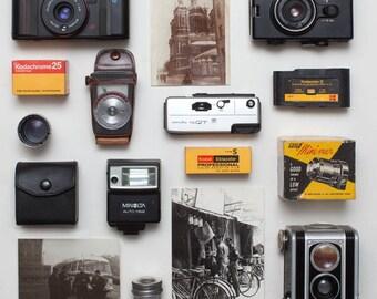 Vintage photography mystery box