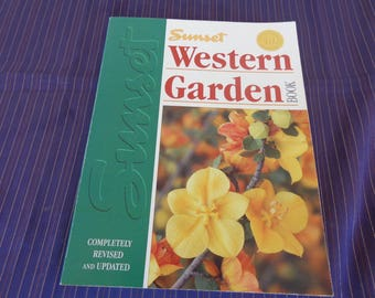 Sunset Western Garden Book  40th Anniversary  Edition 1995