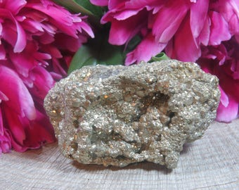 Pyrite Cluster, Fools Gold, Pyrite, Natural Pyrite Specimen,  Pyrite Gemstone, Pyrite Chunk, Golden Pyrite, Raw Natural Pyrite, 300g