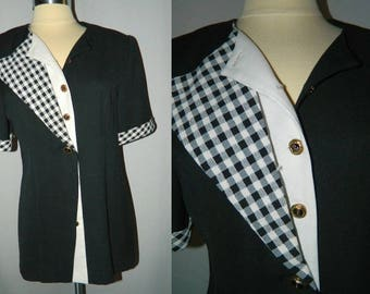 Women's Black Shirt Jacket by Maren