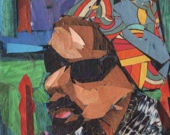 MLK  ne portland st collage 5x7 with frame