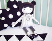 Scarlett the bear Cloth doll