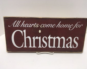 All hearts come home for Christmas (red)