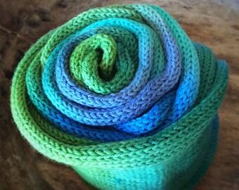 Happylicious sock blank - Handdyed fingering weight yarn