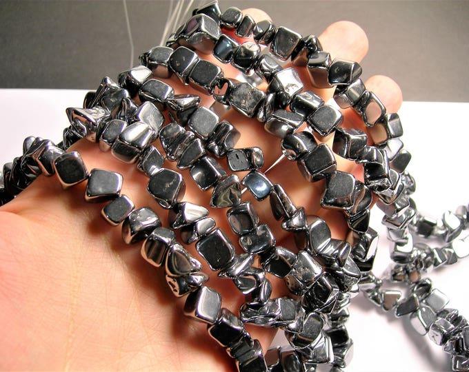 Terahertz - big chip stone - 1 full strand - Terahertz ore - PSC357