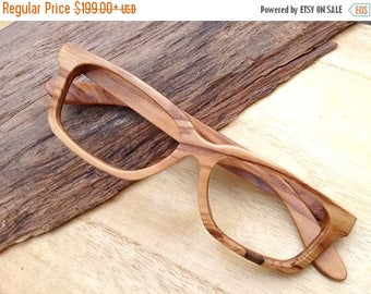 20% off SUMMER SALE AAAA olive wood Takemoto handmade glasses Autumn only one