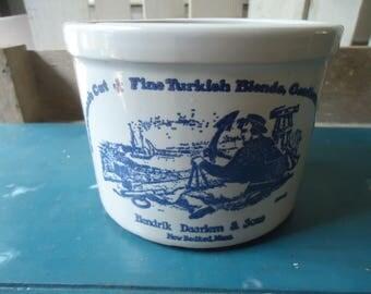 Vintage Hendrick Daarlem & Sons Tobacco Crock