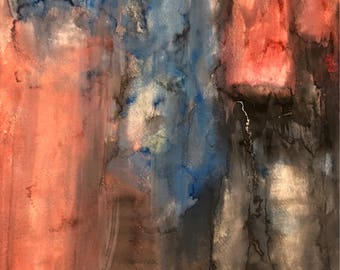 Abstract Watercolor Wash