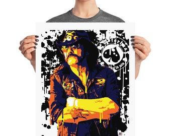Lemmy Motorhead Pop Wall Art Home Decor Prints