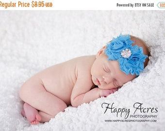 ON SALE Turquoise headband....baby headband...infant headband....newborn headband...toddler girl