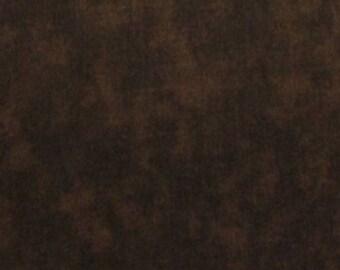 """Dark Brown Blender 108"""" wide back 100% cotton fabric"""