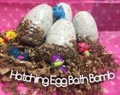 Hatchimal inspired Toy Bath Fizzie, Hatchimals Bath bombs for kids, Kids bath bombs, Hatchimal theme Party Favors, Hatchimals Party