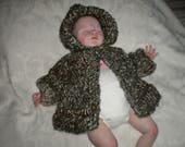 Made to Order Newborn Chunky Hoodie Sweaters (RESERVED for N)
