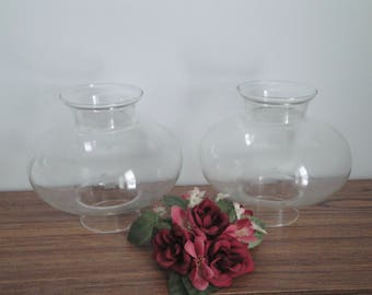 Clear Glass Shades Etsy