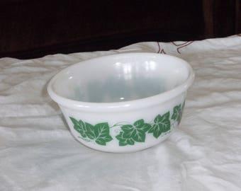 Vintage Anchor Hocking Ivy Bowl
