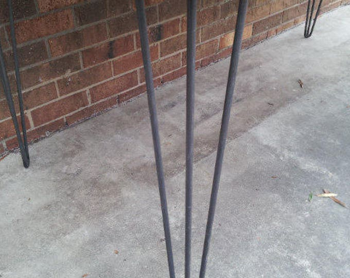 3-Rod Hairpin Leg Steel Leg Metal Hairpins Legs SOLD AS EACH