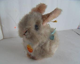 Steiff rabbit all Ids small made in Germany 2324