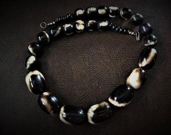 24- Inch Tibetan Yak Horn Necklace