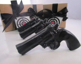 3 Gun Soap - gift for him - stocking stuffer for men - gift for dad - gift for husband - gift for boyfriend - gift for dad - Christmas gift