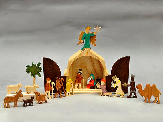 like this item - Wooden Nativity Set