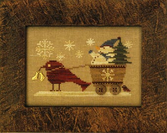 Delivering Flurries Cross Stitch Pattern Only