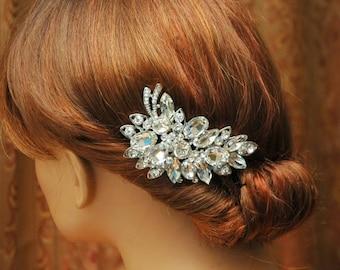 SALE Crystal Bridal Comb Wedding Hair Comb, Bridal HeadPiece, Wedding Hair Accessories, Swarovski Crystals Hair Comb