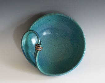 Modern Hostess Bowl, ceramics and pottery, handmade ceramic dish, ceramic bowl, ceramics by Kazem Arshi