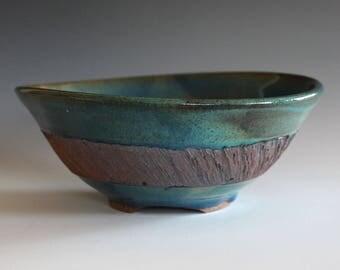 DISCOUNTED, SECONDS, Ceramic Bowl, Pottery Bowl, Serving Bowl, Wheel Thrown Bowl, Handmade Ceramic Bowl,ceramic pottery bowl, stoneware bowl