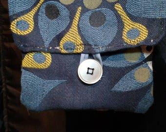 Small handmade pocketbook