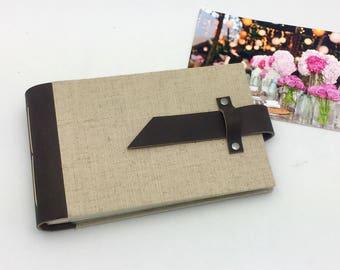 Leather & Linen/Canvas
