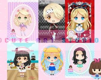 UPDATED! COMMISSION Chibi Custom Character