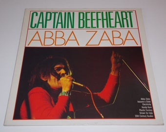 Captain Beefheart - Abba Zaba -  LP Vinyl Record Album - 60's / Psychedelic / Classic Rock / Psych / Frank Zappa / Mothers of Invention