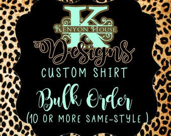 Memorial shirt etsy for Single order custom t shirts