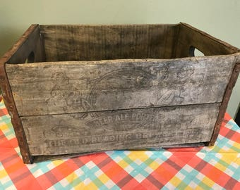 Vintage Old Reading Beer Crate -Pick Up Only-