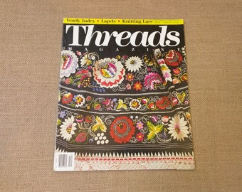 Threads Magazine December 1990 January 1991 Back Issue Number 32