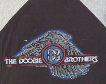 Vintage DOOBIE BROTHERS 1982 Tour T SHIRT concert tee