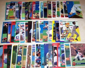 50 Assorted Vintage Atlanta Brave Cards