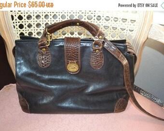 Sizzling Summer Sale Vintage Leather Handbag~Brahmin~ Brahmin Bag~ Made in the USA~