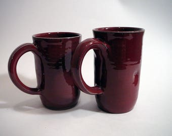 Large Mugs - Red - 2 available