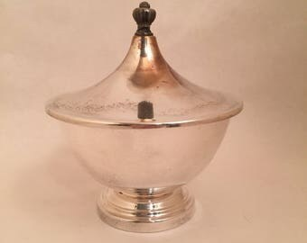 Silver Bowl with Lid