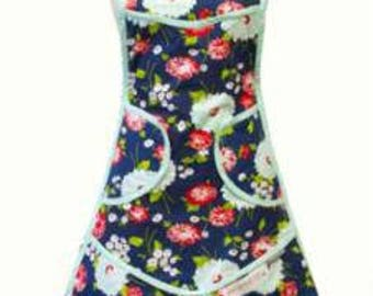 The Good Life Apron Navy 962 61 designed by Bonnie and Camille for Moda