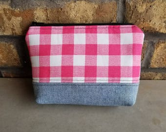 Essential Oil Carrying Case - Essential Oil Pouch - Essential Oil Bag - Cosmetic Bag